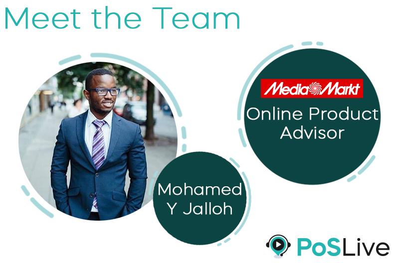 """Meet the Team – Today: Mohamed """"Moh"""" Jalloh (Online Video-Advisor Laptops for Media Markt und Saturn Germany)"""