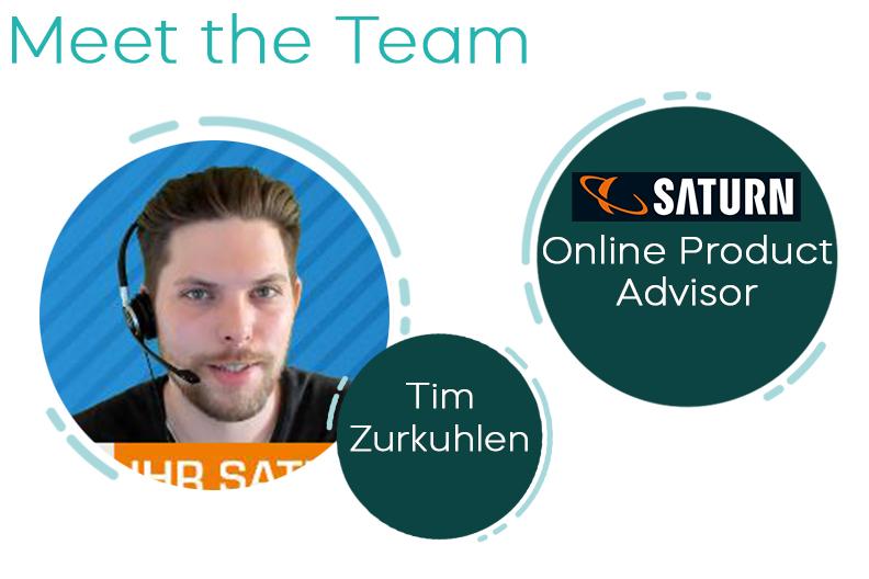 Meet the Team – Today: Tim Zurkuhlen (Online Video Advisor Smart Home for Media Markt and Saturn Online)