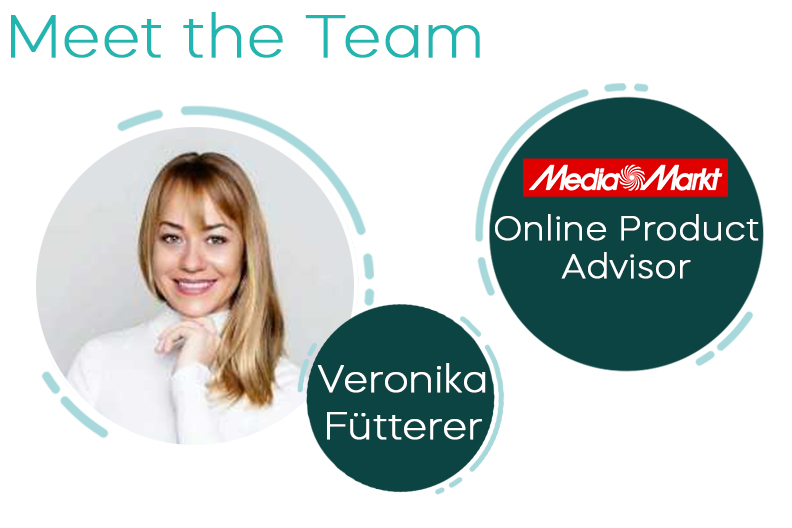 Meet the Team – Today: Veronika (Online Video Consultant for Siemens Home Appliances at Media Markt and Saturn)